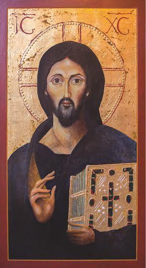 Icon of Christ. St. Cecilia Cathedral, A, Nebraska